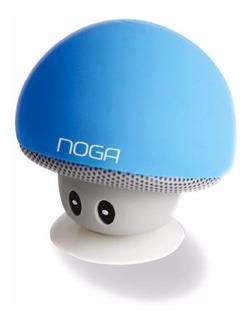 Parlante Inalambrico Hongo Ventosa Bluetooth Noga Ng-p074