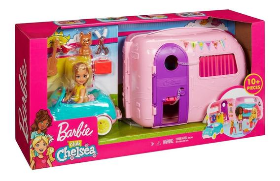 Set Camper De Chelsea Barbie