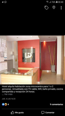 Hotel Céntrico En Capital Federal Alquila Habitaciones