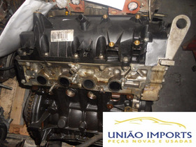 Motor Parcial Renault Clio 1.0 16v Fléx 09 Base Troca Nº3373