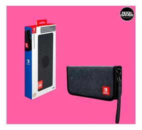 Case Capa Nintendo Switch Premium Oficial Original + Flanela