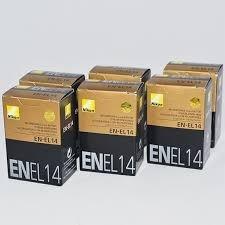 Baterias Nikon En-el14 ...pack Original