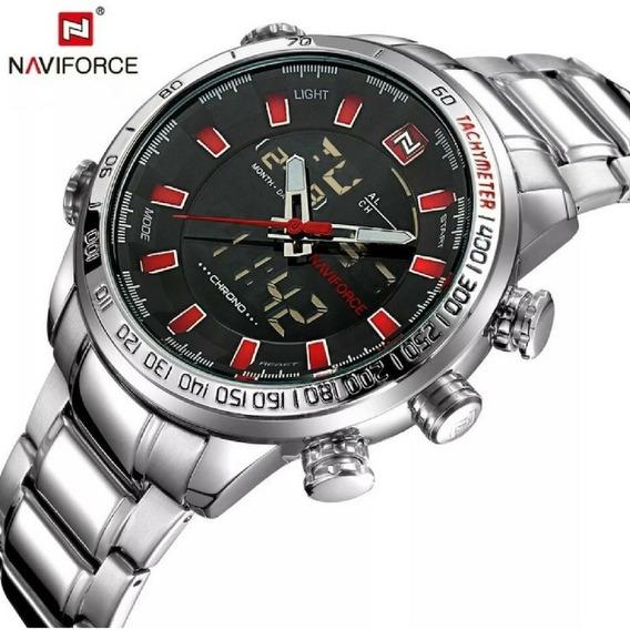 Relógio Naviforce Masculino Modelo 9093 Original De Luxo