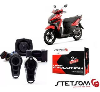 Alarme Presença Yamaha Neo 125 Todas Stetsom Moto Triplo I Bloqueia Corta Combustivel E Ignição Com Presença