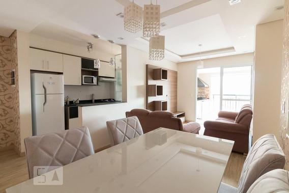 Apartamento No 13º Andar Mobiliado Com 3 Dormitórios E 1 Garagem - Id: 892976961 - 276961