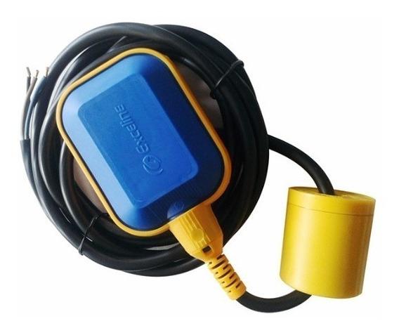 Flotador Electronivel Tinaco Cisterna 120/220 V 0,5 Hp 373 W