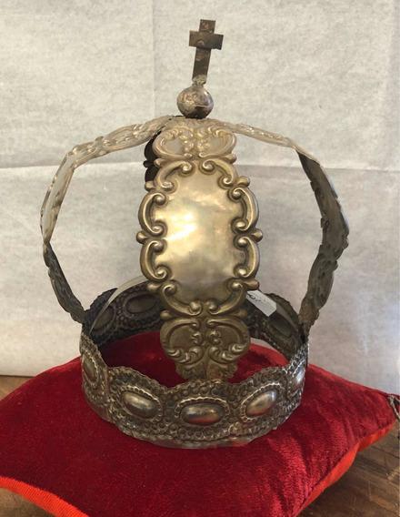 Antigua Corona Para Santo Cuzqueña