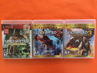 Uncharted 1, 2, 3 Ps3