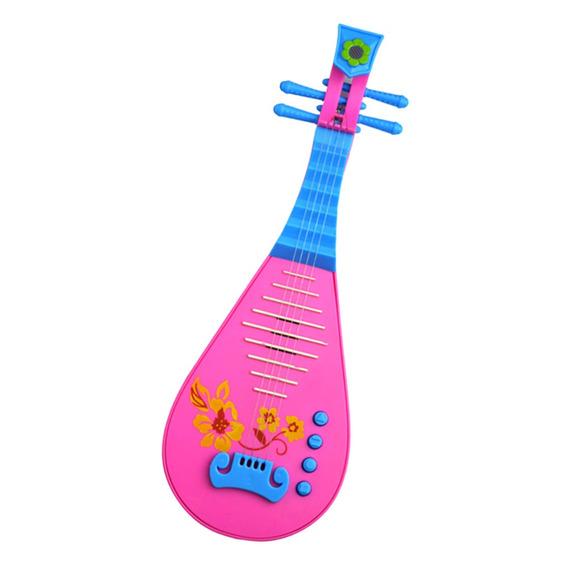 Brinquedo Elétrico Chinês Pipa Alaúde Guitarra Criança Menin