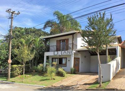 Casa Com 3 Dormitórios À Venda, 260 M² Por R$ 980.000 - Roncáglia - Valinhos/sp - Ca13108