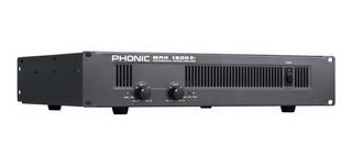 Amplificador Potencia Phonic Max 1500 450 + 450w La Plata