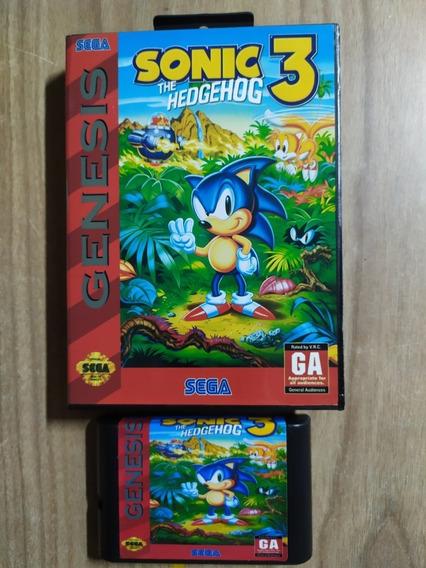 Sonic 3 Mega Drive Salvando!