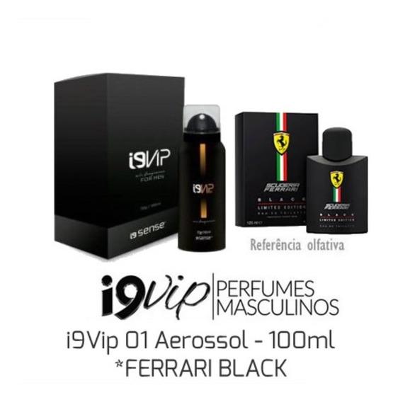 I9vip 01 Aerossol 100 Ml *ferrari Black