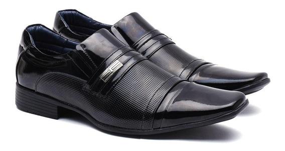 Sapato Social Masculino Manutt Couro De Carneiro