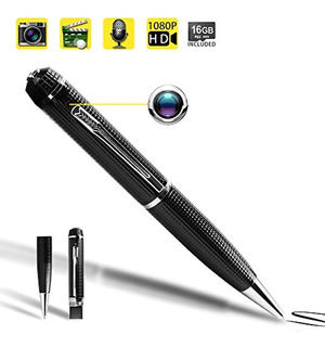 Wiseup 1080p Hd Spy Pen Cámara Mini Grabadora