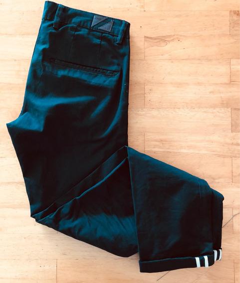 Líquido!!chupin Zara Negro Talle 30 Impecable