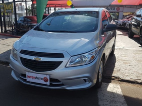 Chevrolet Onix Joy 1.0 2017 Prata Flex