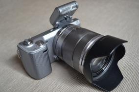 Oferta R$1199! Sony Nex 5n Com 2 Lentes E Adaptador Canon