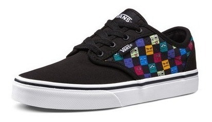 Zapatillas Vans Niño Monster Checkboard Skate Urbanas Dep