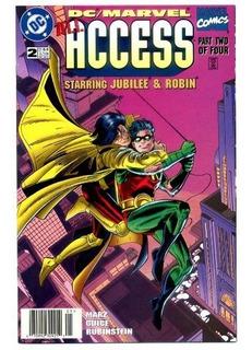 Dc / Marvel Access Jubile Y Robin Comics Español