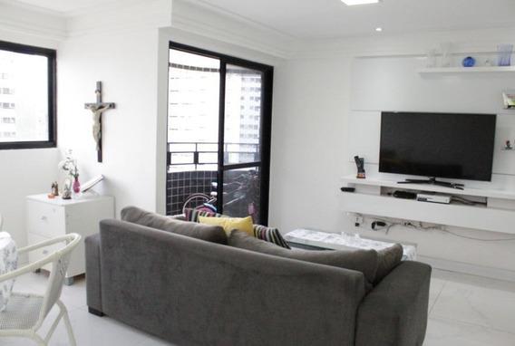 Apartamento Com 3 Dormitórios À Venda, 110 M² Por R$ 610.000 - Boa Viagem - Recife/pe - Ap8757