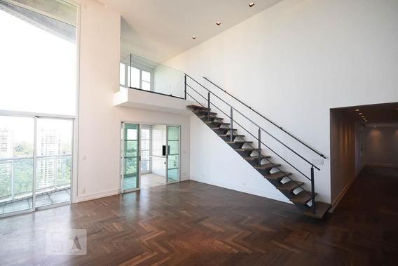 Apartamento No 21º Andar Com 2 Dormitórios E 4 Garagens - Id: 892957260 - 257260