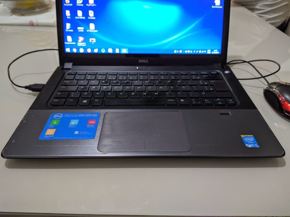 Notebook Dell Vostro 5470 Ultrabook Em Pleno Funcionamento