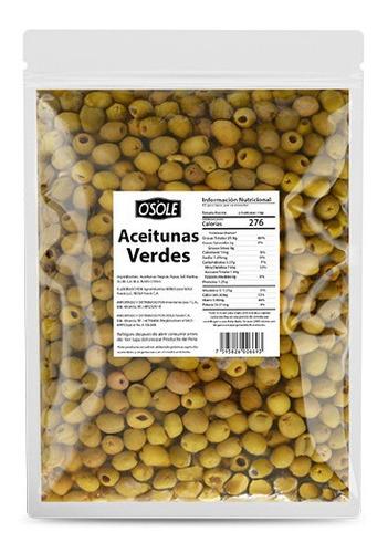 Aceitunas Verdes Enteras 4080 Gr (bolsa Fs) - 200002755