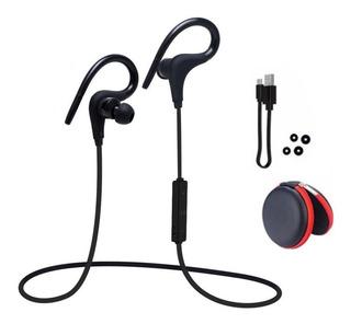 Auriculares Bluetooth In Ear Manos Libres Deportivos Estuche Superior Al Resto Microfono Sonido Calidad Alta Duracion