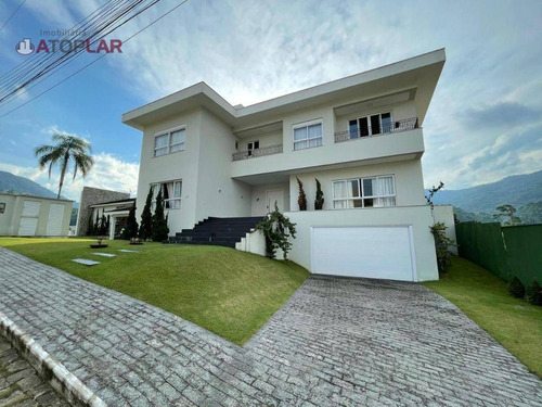 Casa Com 5 Suítes À Venda, 570 M² Por R$ 5.500.000 - Ariribá - Balneário Camboriú/sc - Ca0102