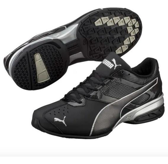 Tenis Puma Tazon 6 Fm Black Running Shoes...