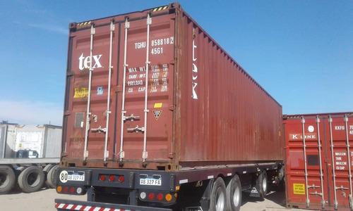 Contenedor Maritimo Container 40' Nacionalizados