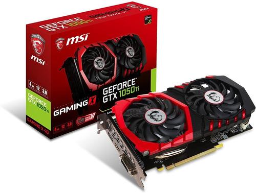 Tarjeta De Video Msi - Vga - Geforce Gtx 1050ti Gaming X 6g