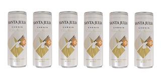 Vino Santa Julia Chenin Dulce Natural Pack X 6 Latas X 355ml