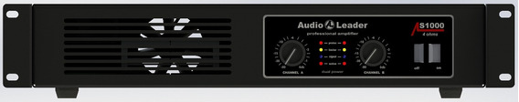 Amplificador Audio Leader Als1000 1000 W Em 4 Ohms
