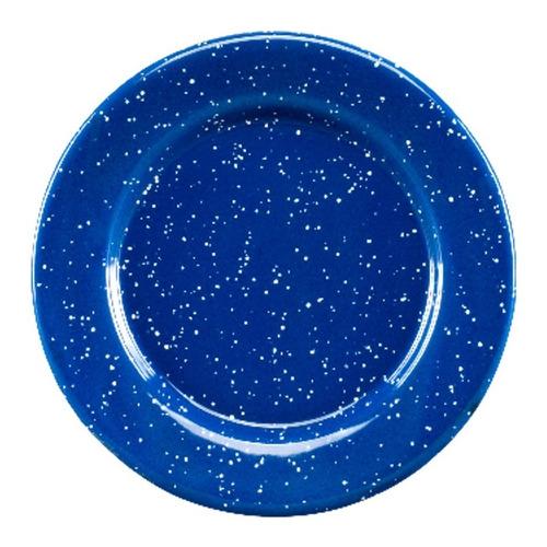 Juego De Plato Postre De Peltre Con Ala 6 Piezas Azul Cinsa