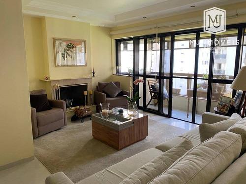 Imagem 1 de 22 de Apartamento Com 3 Dormitórios À Venda, 160 M² Por R$ 2.120.000 - Moema - São Paulo/sp - Ap0561
