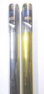 Papel Tipo Contact Autoadhesivo Metalizado 45cm X 10mt.