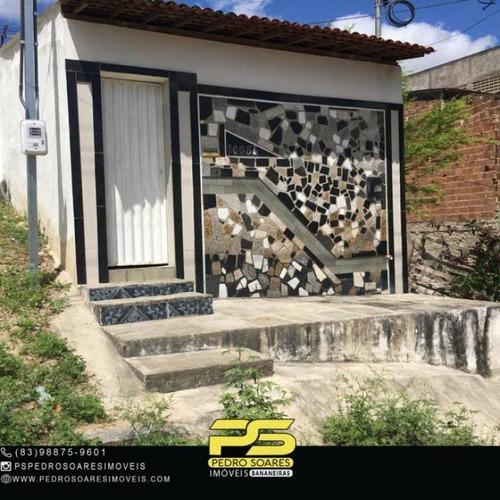 Louzeiro - Campina Grande - Casa À Venda, Por R$ 60.000 - Ca1016