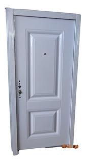 Puerta Blindada Multianclaje Seguridad Premium 53kg 12 Ctas