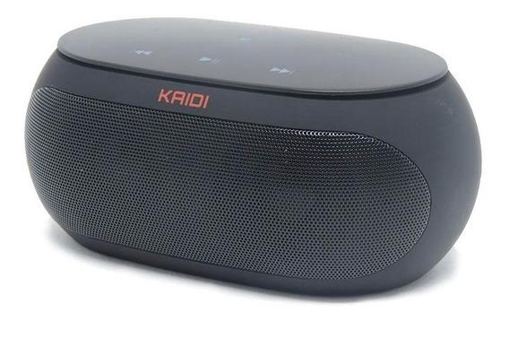 Caixa De Som Bluetooth + Fm Radio Kd 813 Kaidi