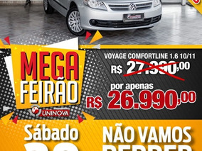 Volkswagen Voyage Comfortline 1.6 8v 2011