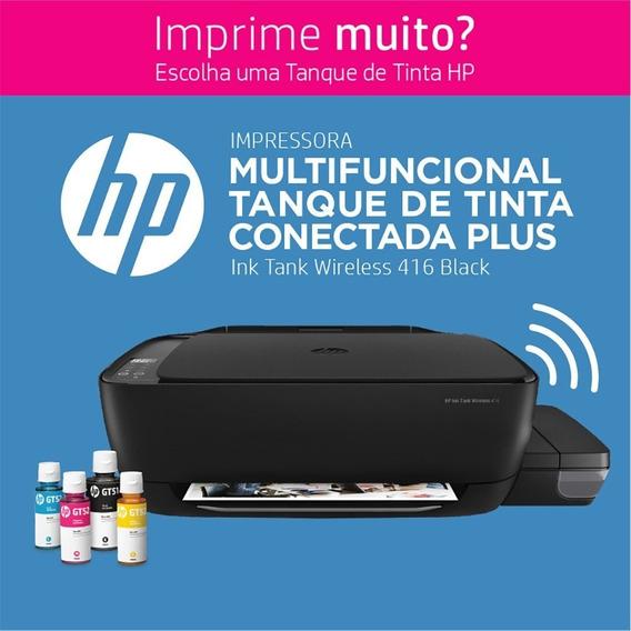 Multifuncional Hp Bulk Ink Tank Wireless 416, Jato De Tinta