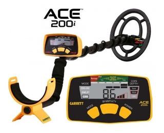 Detector De Metales Garrett Modelo Ace 200i Original