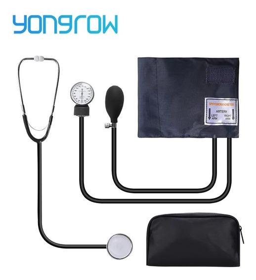 Kit Monitor De Presión Arterial Manual Y Estetoscopio