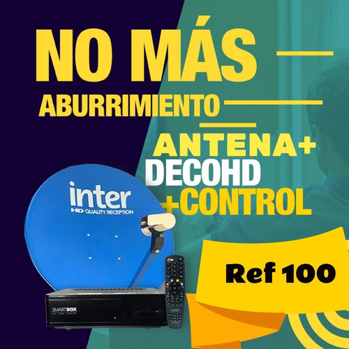 Kit Inter Hd Satelital