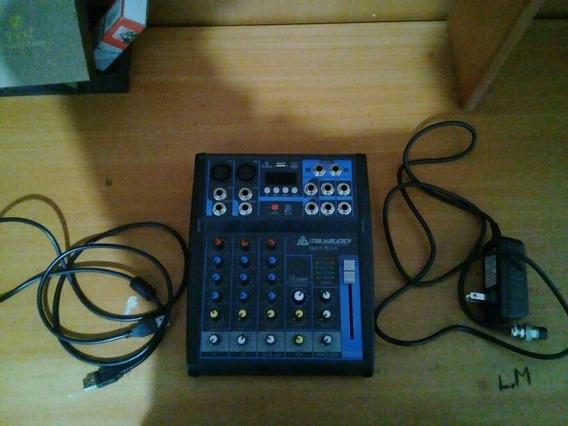 Interfaz De Audio + Micrófono Pga58