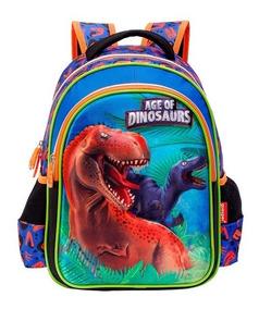 Mochila Dinossauro Rex ( M ) Costas