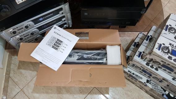 Amplificador De Potência Crown Xls1000 - Seminovo - Confira!