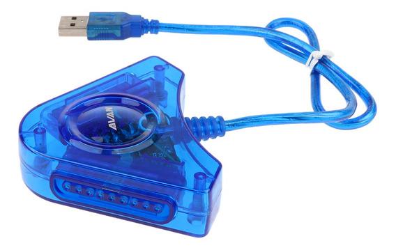 Para Playstation Ps2 Psx Para Pc Usb Dual Controlador Adapta